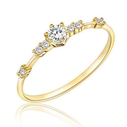 Simple Rings Rhinestone Jewelry