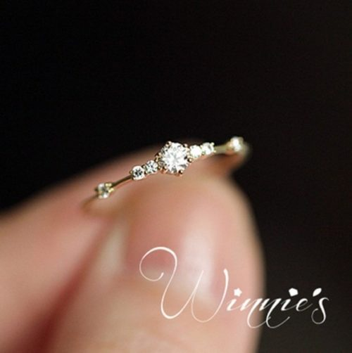 Simple Rings Rhinestone Jewelry
