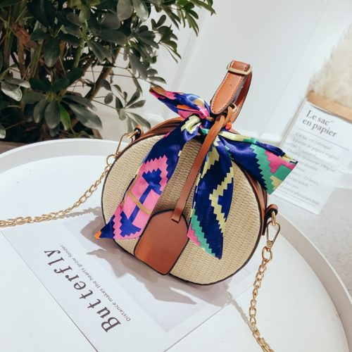 Summer Bags Straw Beach Crossbody