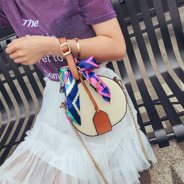 Summer Bags Straw Beach Crossbody