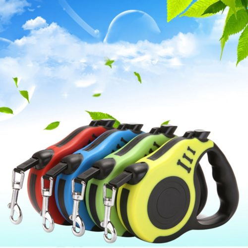 Retractable Dog Leash Pet Accessories