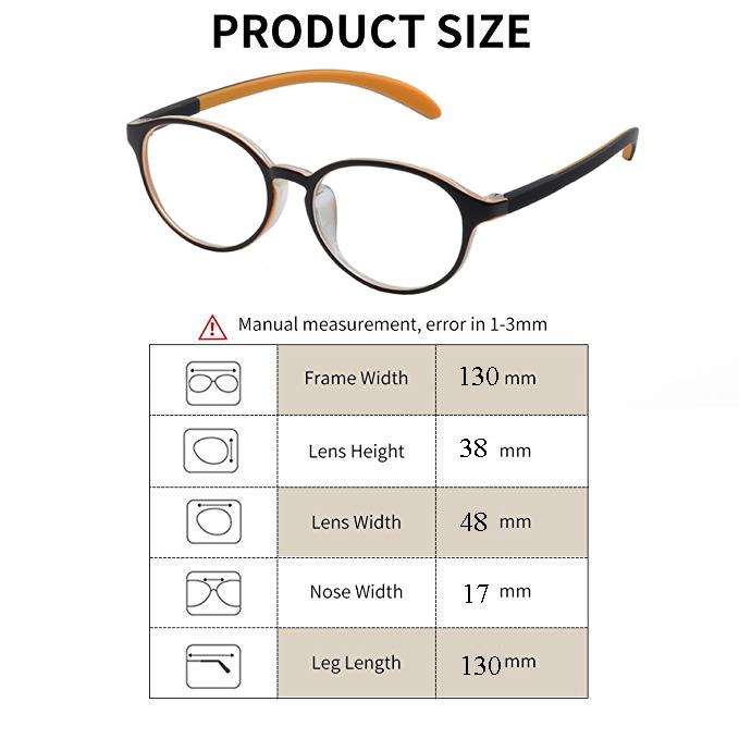 Computer Reading Glasses Anti-Glare Protection