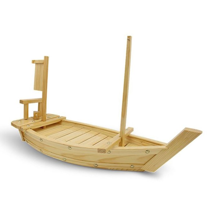 Sushi Platter Wooden Boat Tray