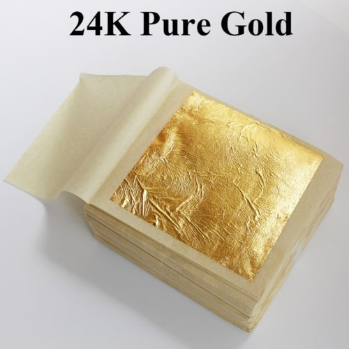 Edible Gold Leaf Food Decoration