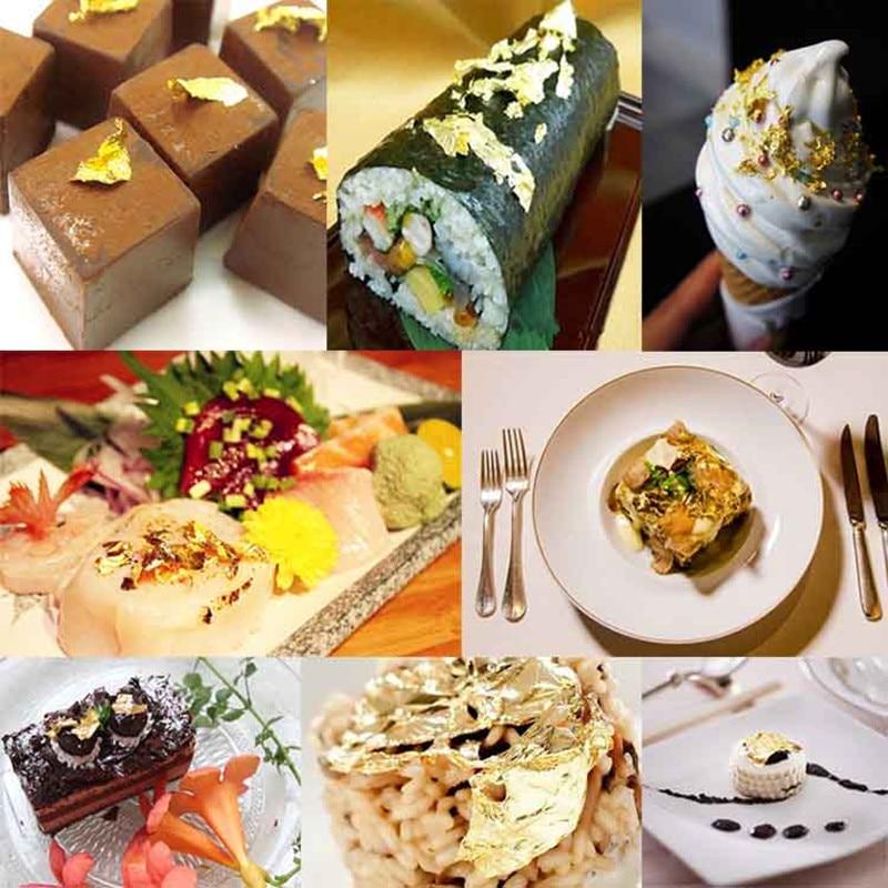 Edible Gold Leaf Food Decoration