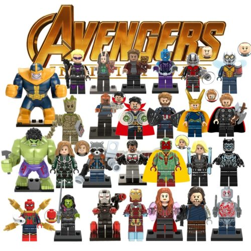 Avengers Action Figures Marvel Toys