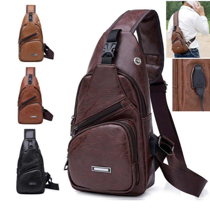 Leather Bags for Men Man Purse