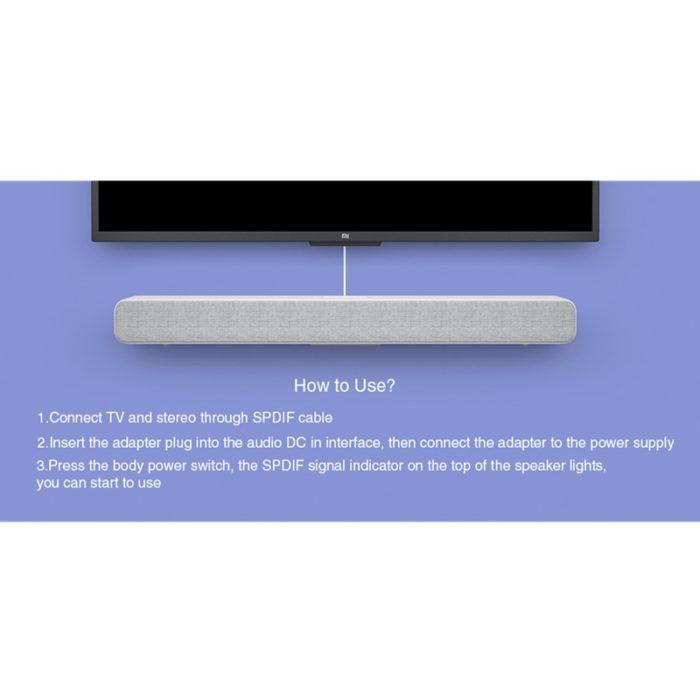 Bluetooth Soundbar TV Surround Sound