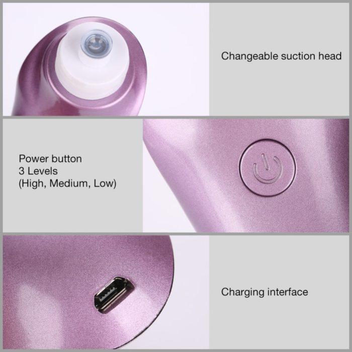 Blackhead Vacuum Pore Cleaner
