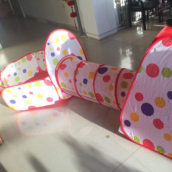 Pop Up Play Tent Indoor/Outdoor Playhouse