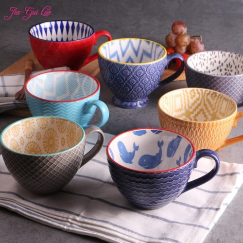 Coffee Cups Ceramic Vintage Cups