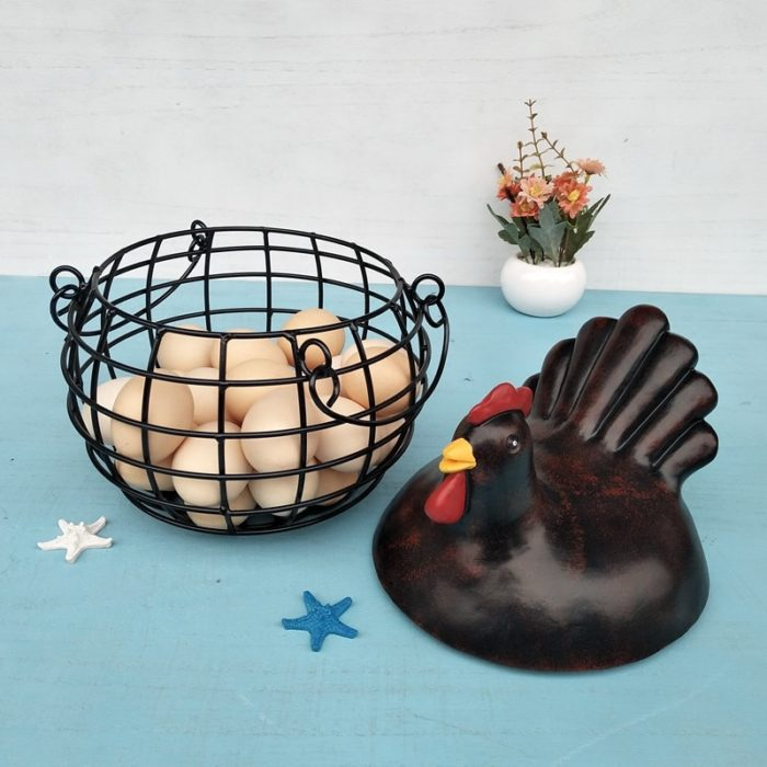 Wire Storage Baskets Chicken Cover