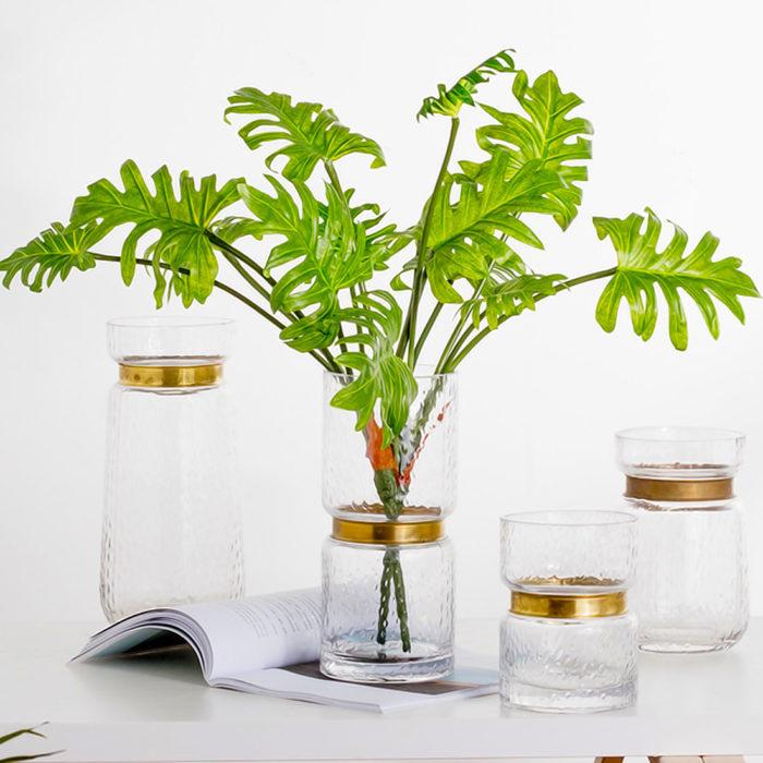 Faux Plants Artificial Leaves Decor