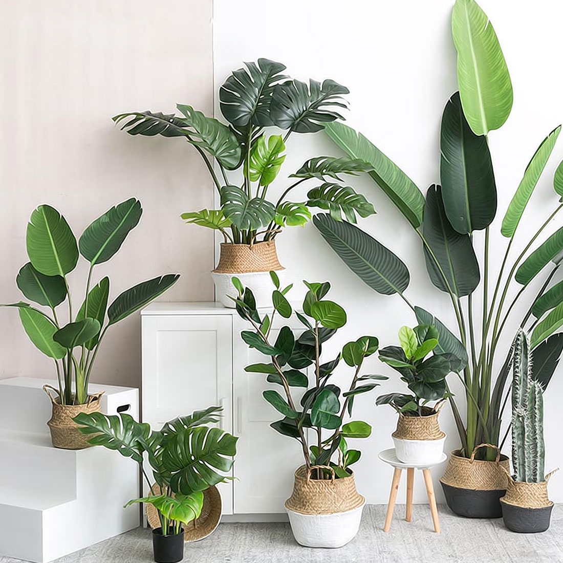 Faux Plants Artificial Leaves Decor Life Changing Products