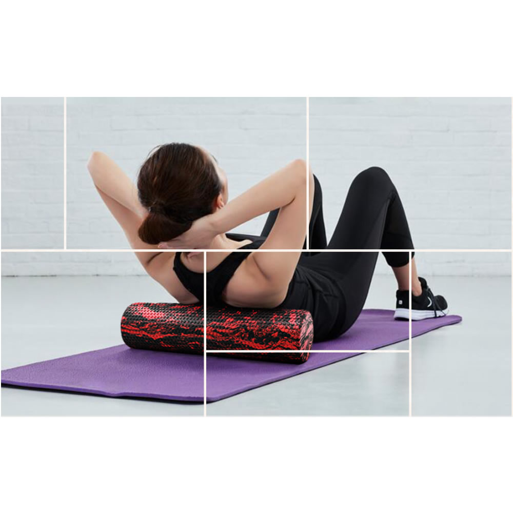 Can be used for simple massage function. physical therapy, yoga, pilates, and more.