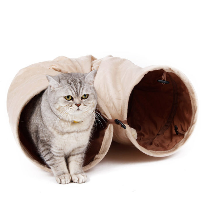 Cat Tunnel Foldable Interactive Toy