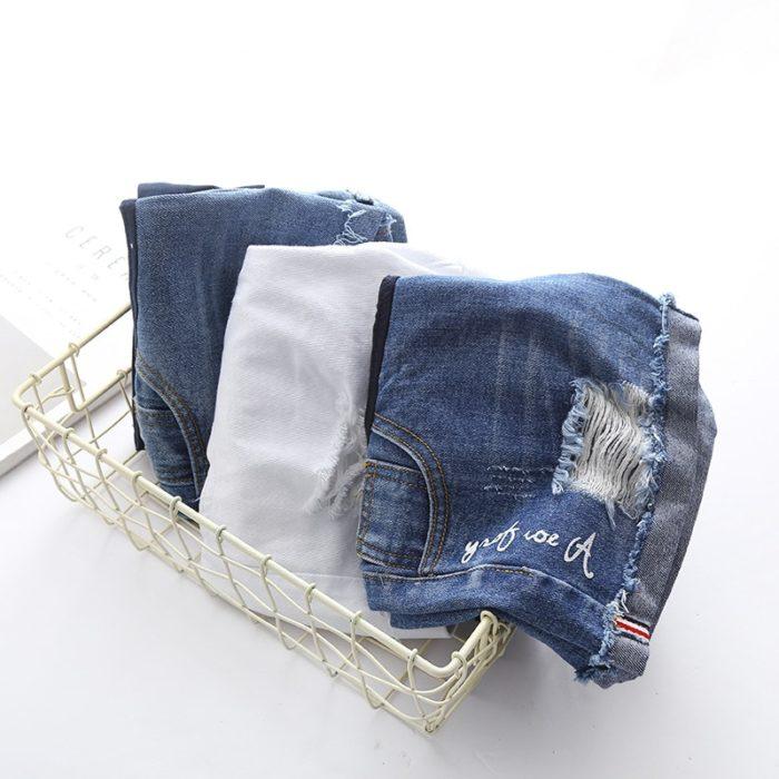 Maternity Shorts Denim Wear