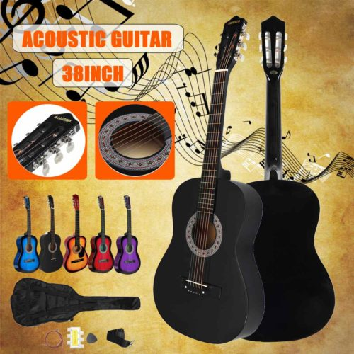 Acoustic Guitar Beginners Package Kit