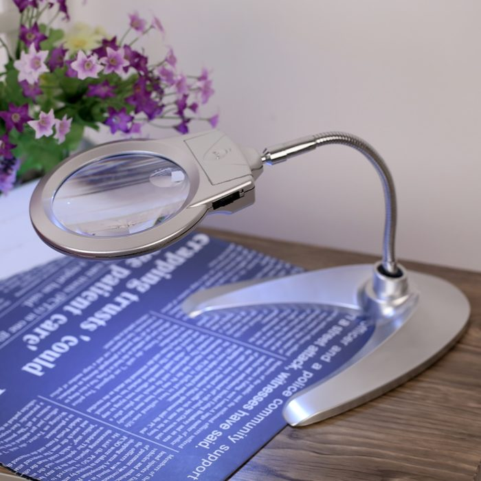 Magnifying Glass With Light Magnifier Tool