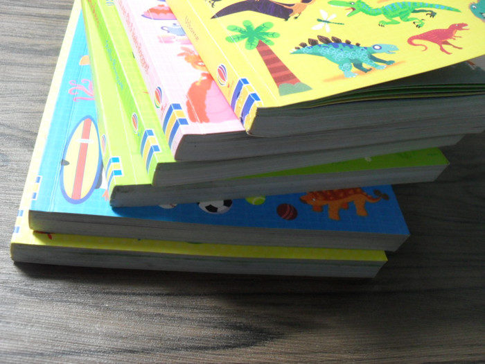Sticker Book 1000pcs Kids Art