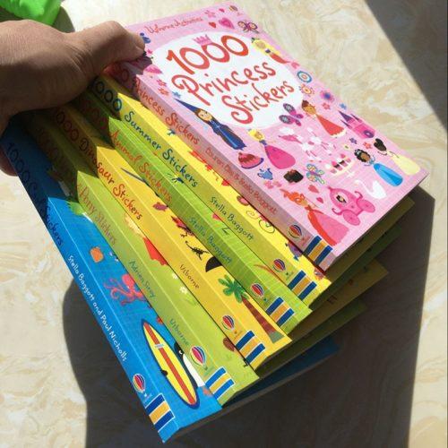 Sticker Book 1000pcs Kids Art