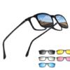 Clip On Glasses 5in1 Magnetic Eyewear