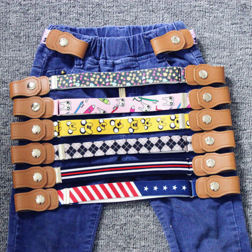Kids Belt Elastic Buckleless