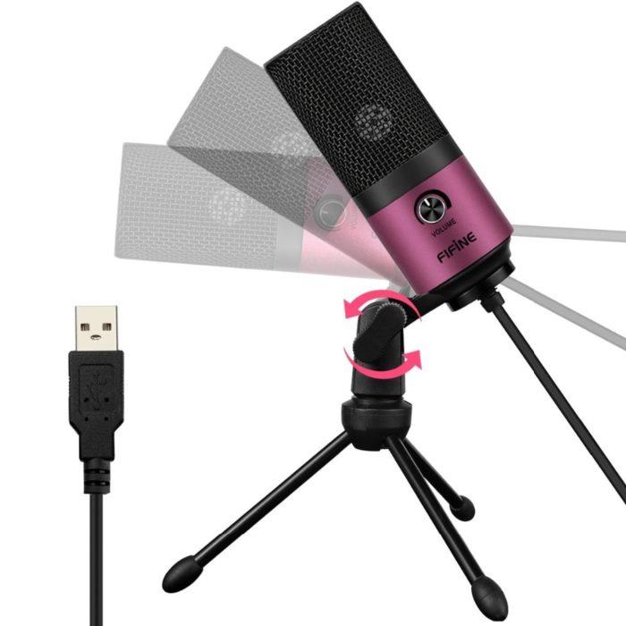 Desktop Microphone USB Recording Mic