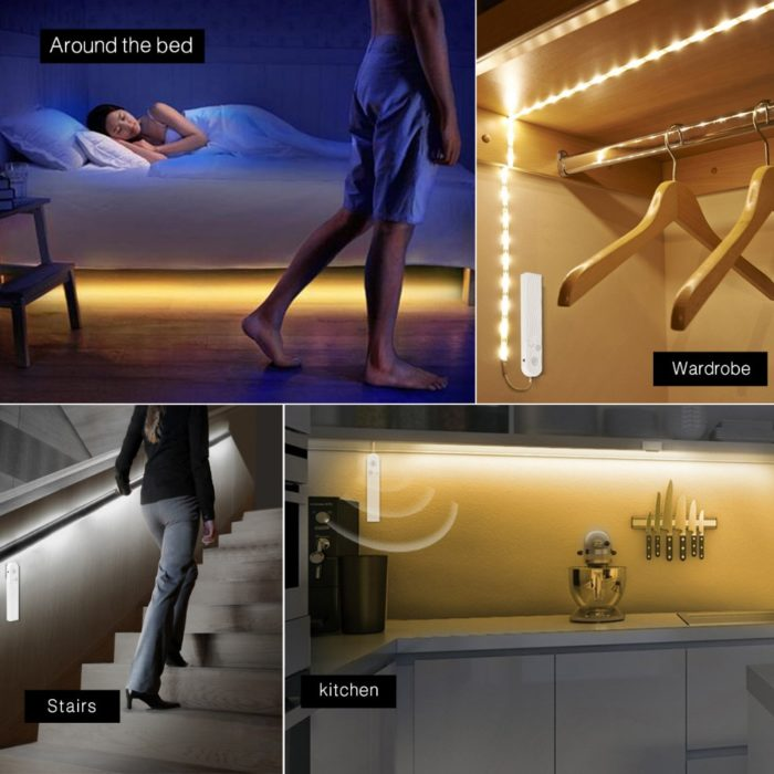 Wardrobe Lights Motion Sensor LED