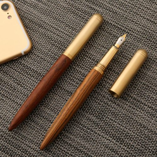 Ink Pen Wooden Fountain Pen