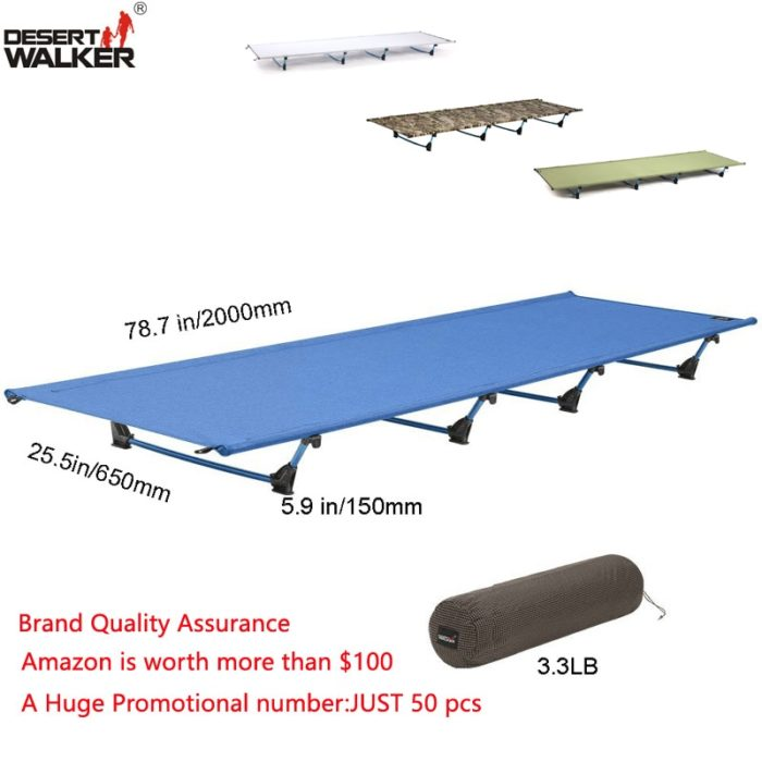 Portable Cot Outdoor Mat Bed