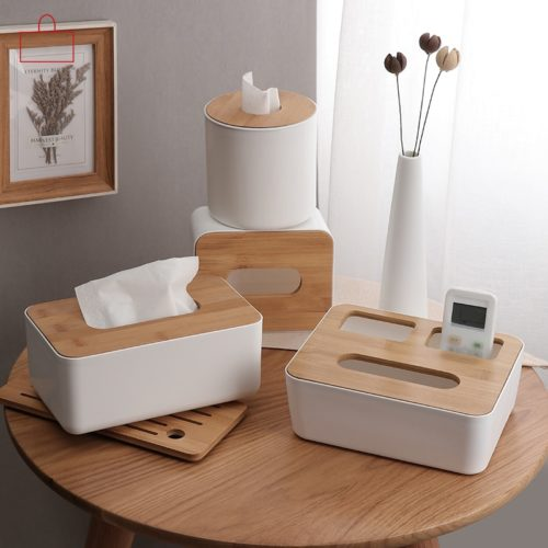Tissue Box Holder Storage Container
