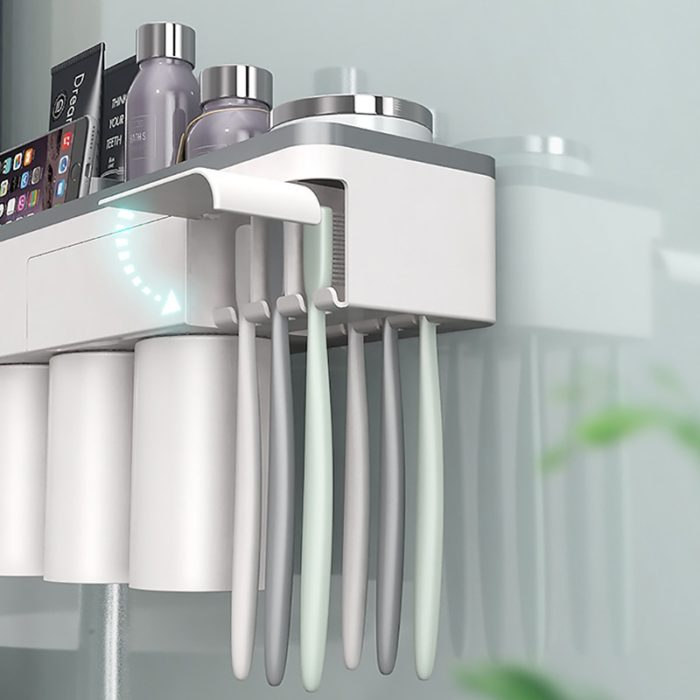 Bathroom Storage Toothbrush Holder