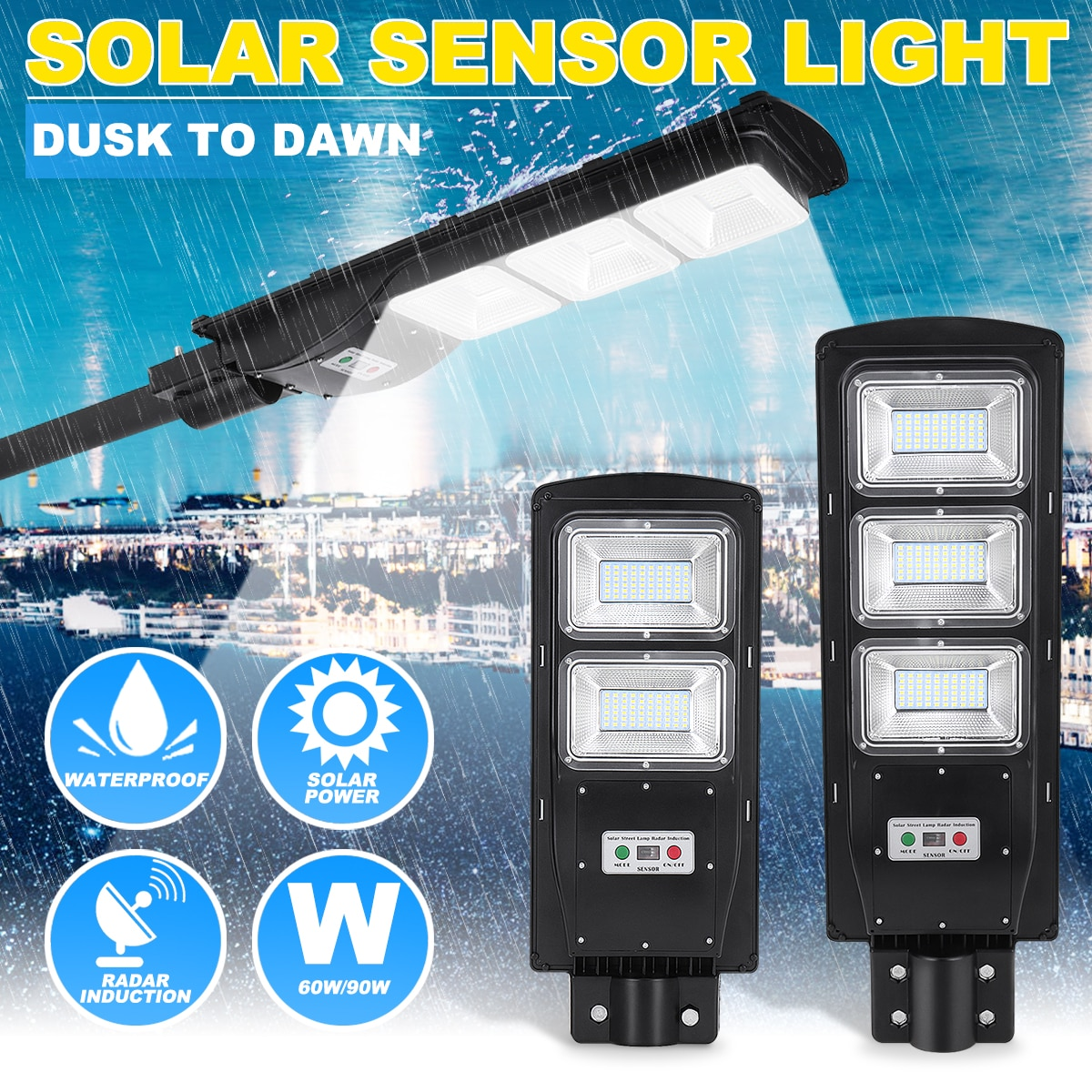 Led Street Light Solar Powered Lamp Life Changing Products