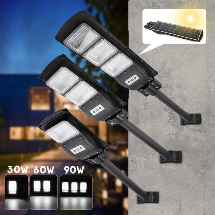 LED Street Light Solar Powered Lamp