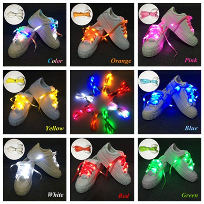 Shoe Accessories LED Shoelaces