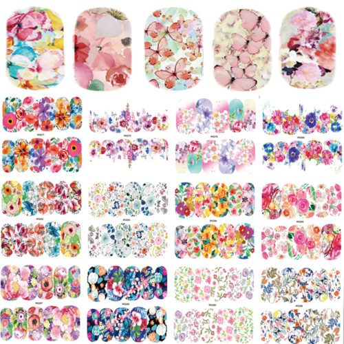 Nail Decals 25 Sheets Art Stickers
