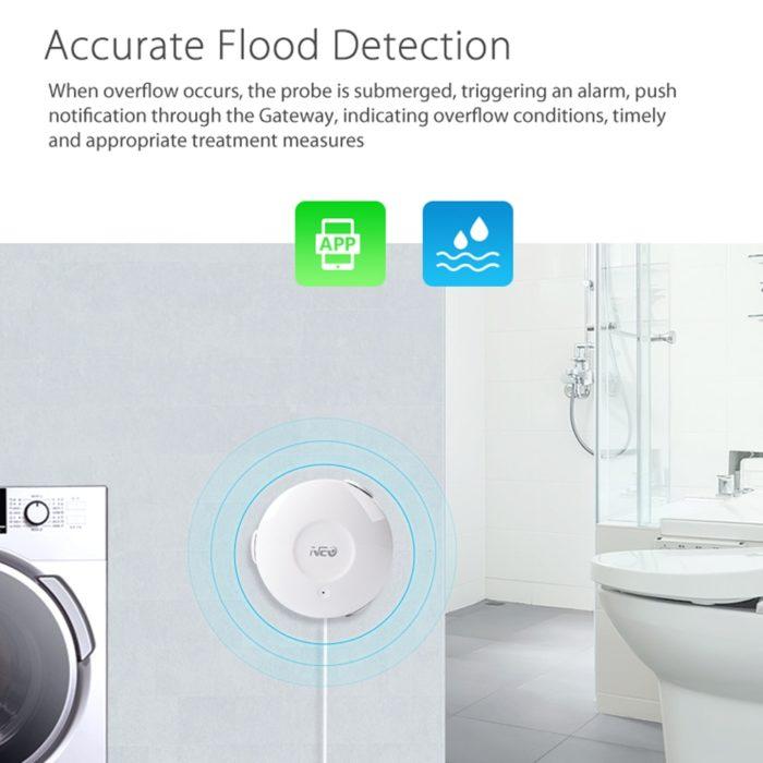 Water Detector Leak Sensor Alarm