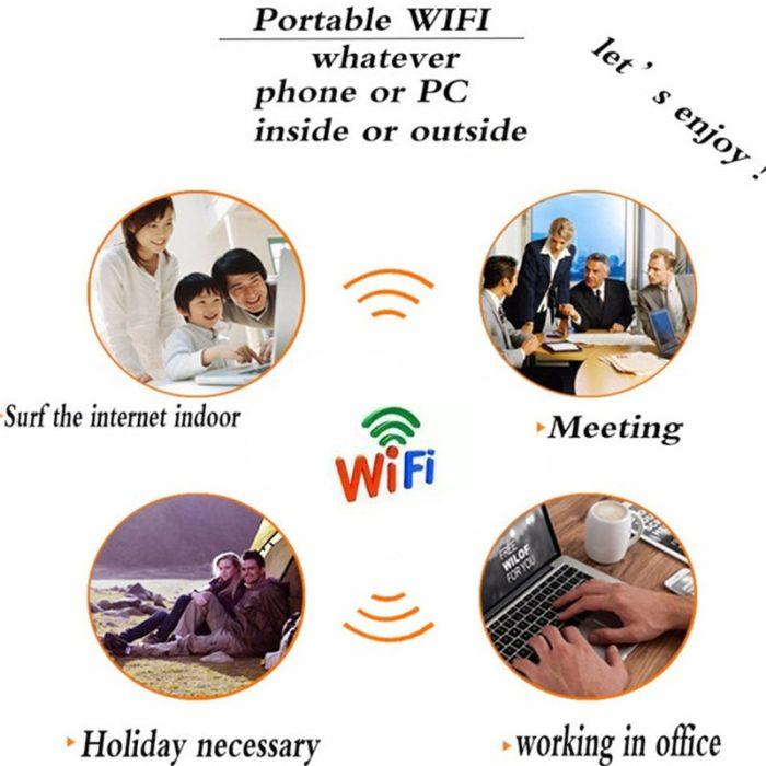 Portable WiFi Router Mobile Hotspot