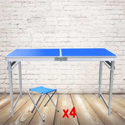 Folding Picnic Table With 4pcs. Stool
