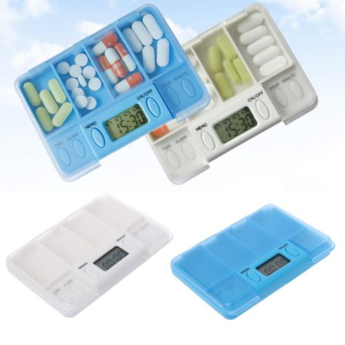 Pill Box Automatic Medicine Reminder