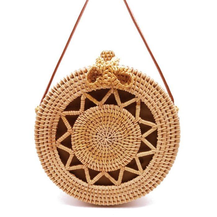 Rattan Bags Handmade Purse