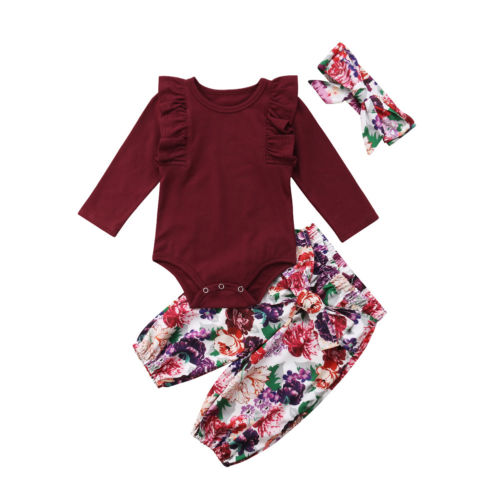 Cute Baby Girl Clothes Set