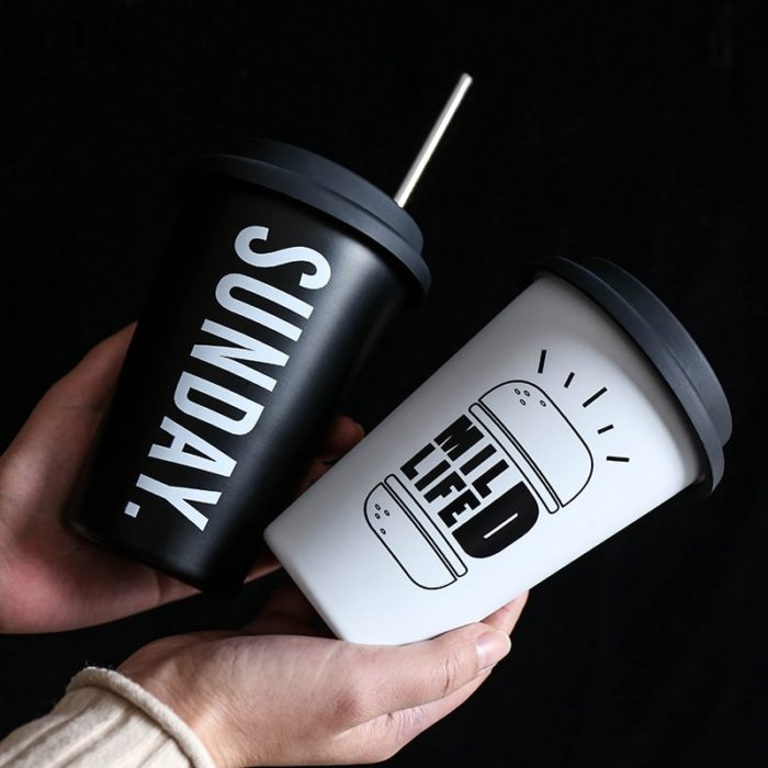 Travel Coffee Cup Stainless Steel