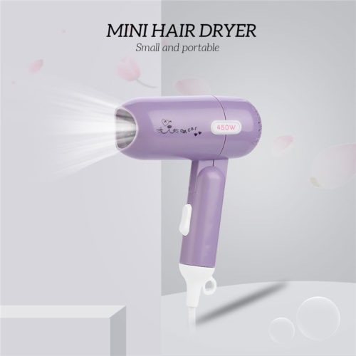 Portable Hair Dryer Foldable Blower