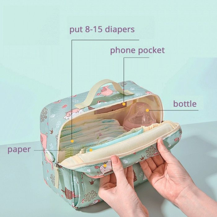 Small Diaper Bag Waterproof Organizer