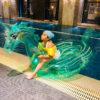 Unicorn Pool Float Inflatable Ride