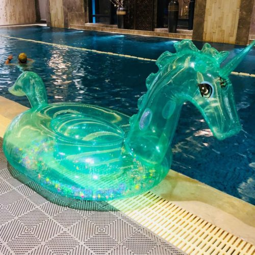 Unicorn Pool Float Inflatable Ride
