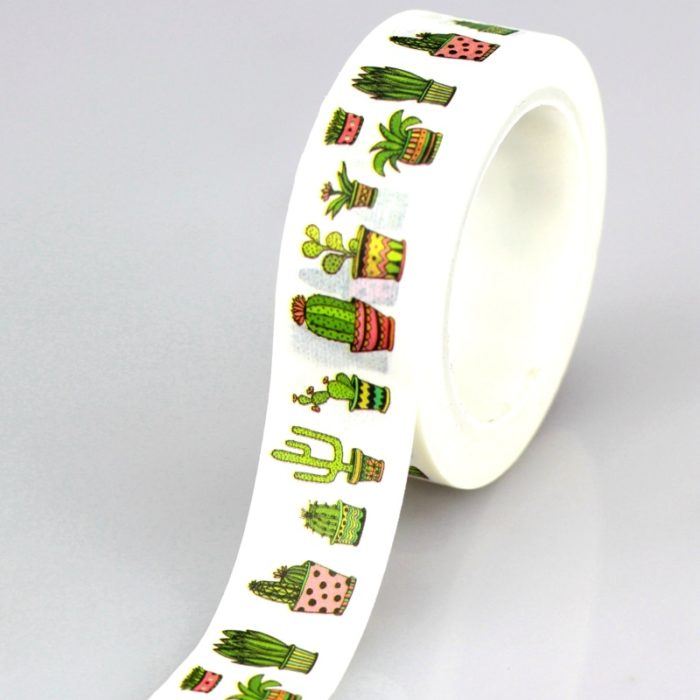 Sticky Tape Cactus Prints