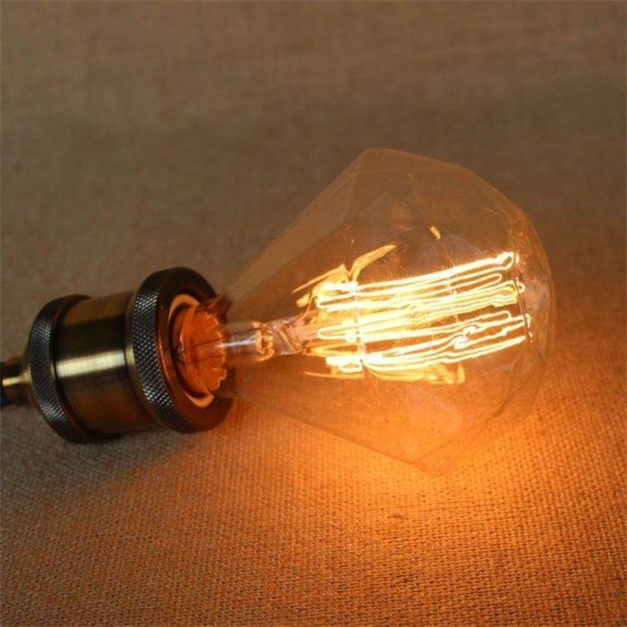 Retro Lamp Incandescent Bulb Decor